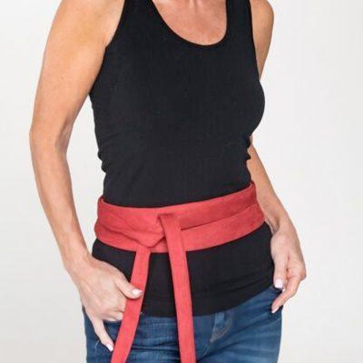 red belt accessories
